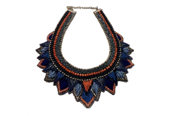 Triangle Bib Necklace